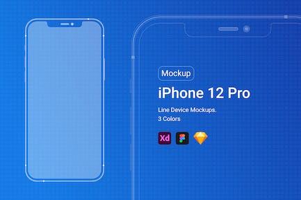iPhone 12 ProLine Mockup