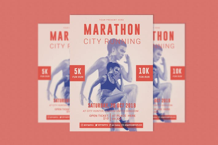 Thumbnail for dépliant Marathon