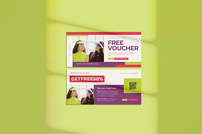 Free Voucher Vol.11