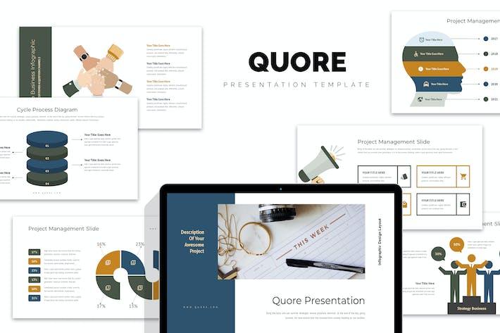 Thumbnail for Quore: Вектор инфографический бизнес Powerpoint