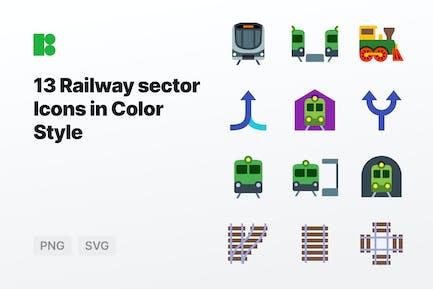 Color - Railway sector