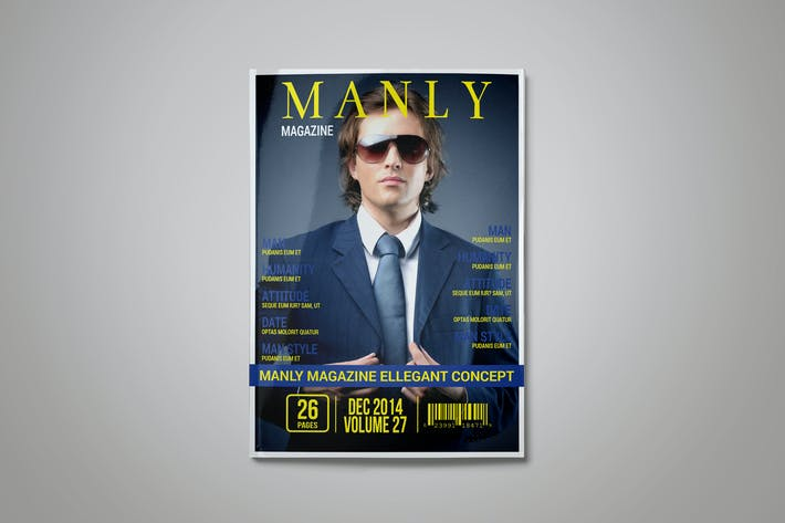 Cover Image For Multipurpose Indesign Magazine Template