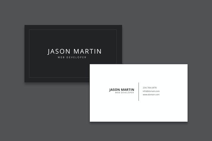 Jiwstudio envato elements web developer business card colourmoves
