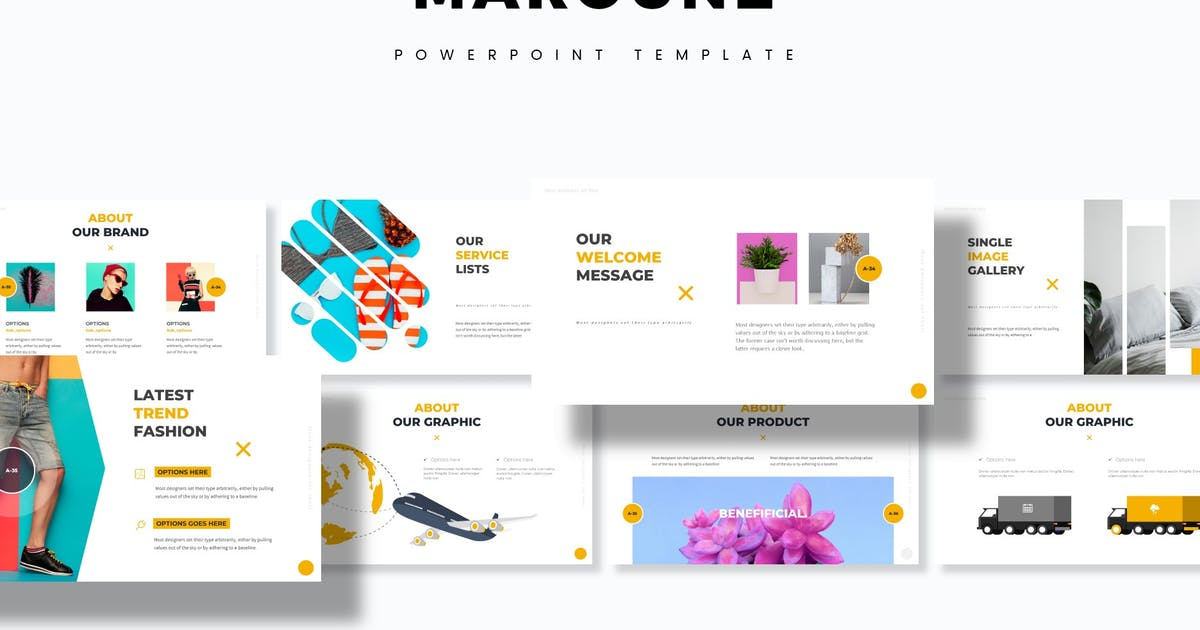 Download Maroune - Powerpoint Template by aqrstudio