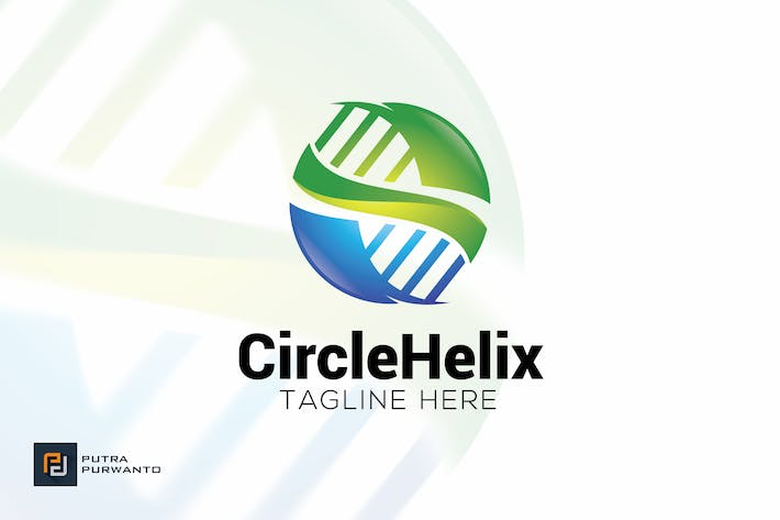 Thumbnail for Circle Helix - Logo Template