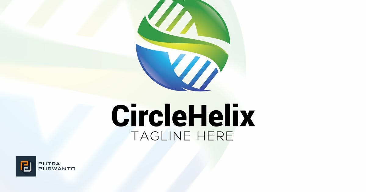 Download Circle Helix - Logo Template by putra_purwanto