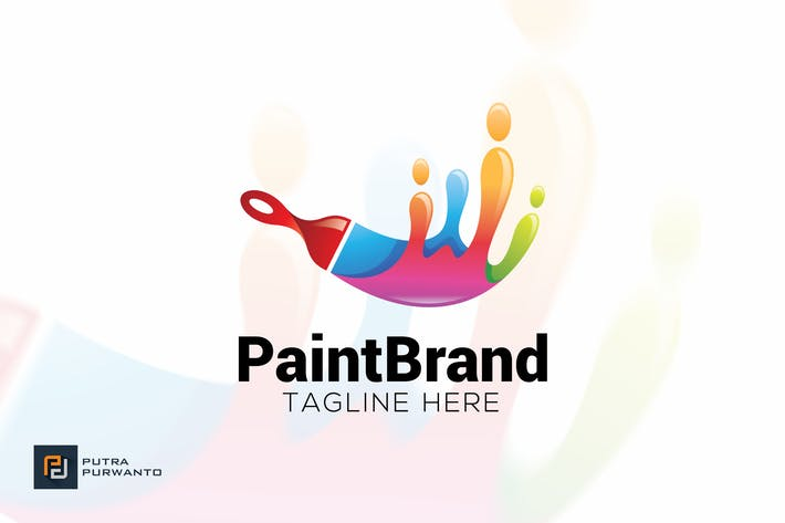 Thumbnail for Paint Brand - Logo Template