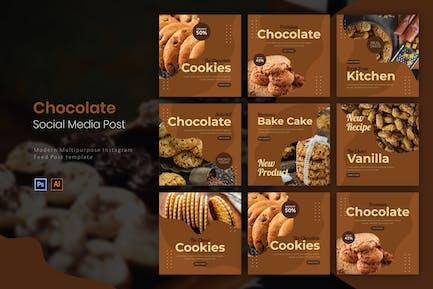 Die Schokoladenplätzchen   Instagram Post