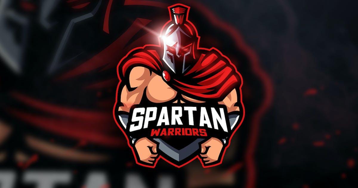 Download Spartan Warriors- Mascot & Esport Logo by aqrstudio