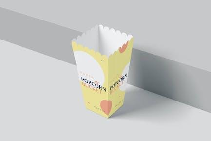 Popcorn Bucket Mockups