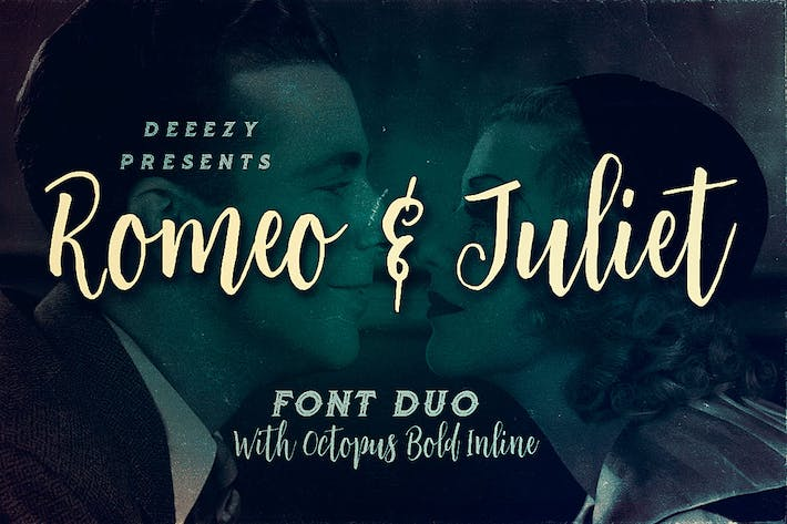 Thumbnail for Romeo & Juliet Font Duo