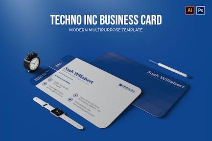 Techno Inc - Business Card