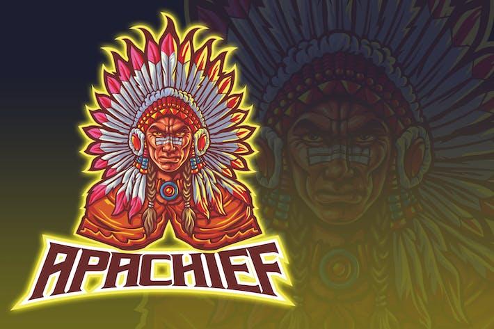 Thumbnail for Indischer Mann Esport Logo