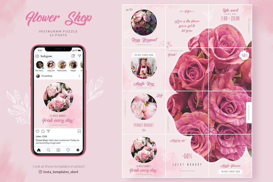 Flower Shop Instagram Puzzle