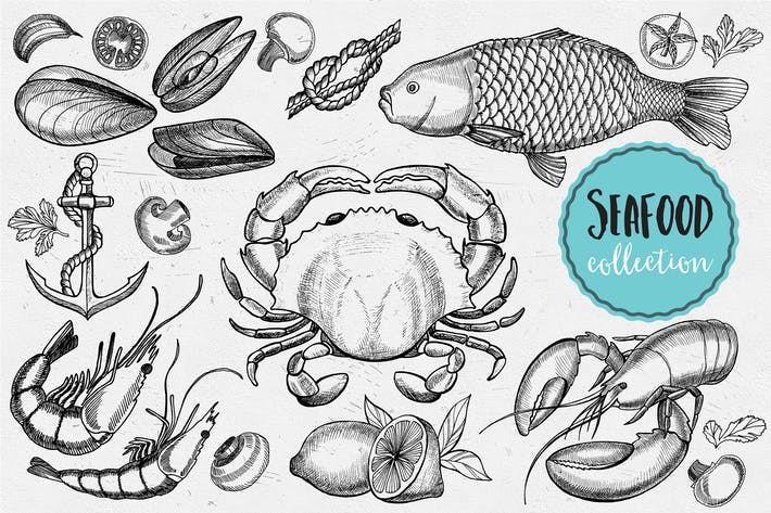 Cover Image For Seafood Elements