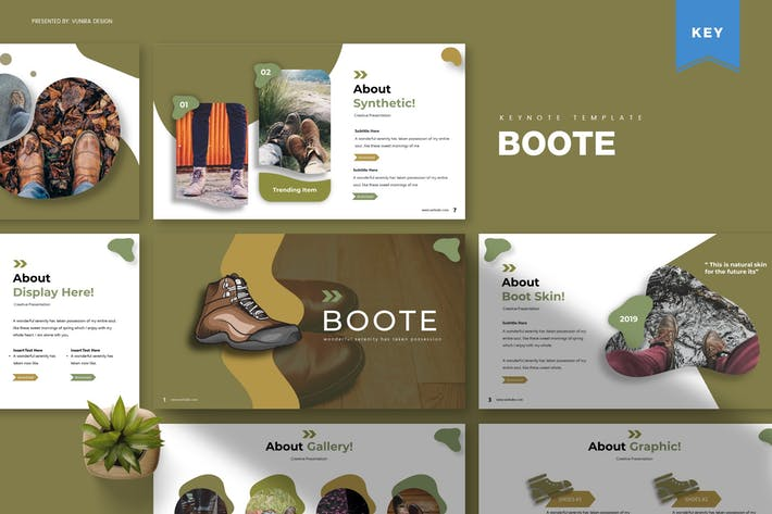 Thumbnail for Boote | Keynote Template