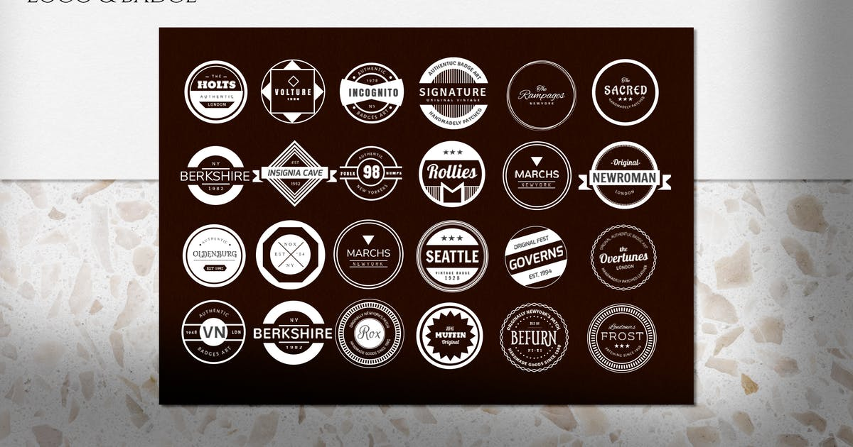 Download Vintage Logo and Badge by eviory