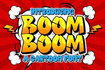 Boom Boom Tipo de letra