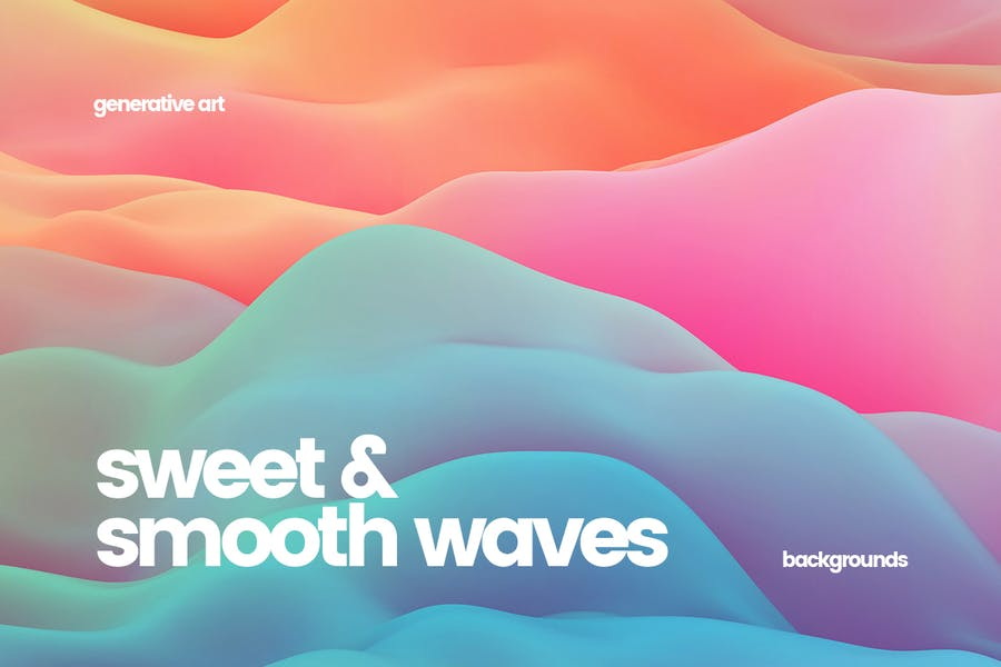 Sweet Smooth Waves Backgrounds