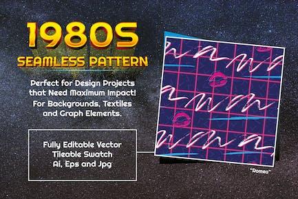 1980s Seamless Pattern