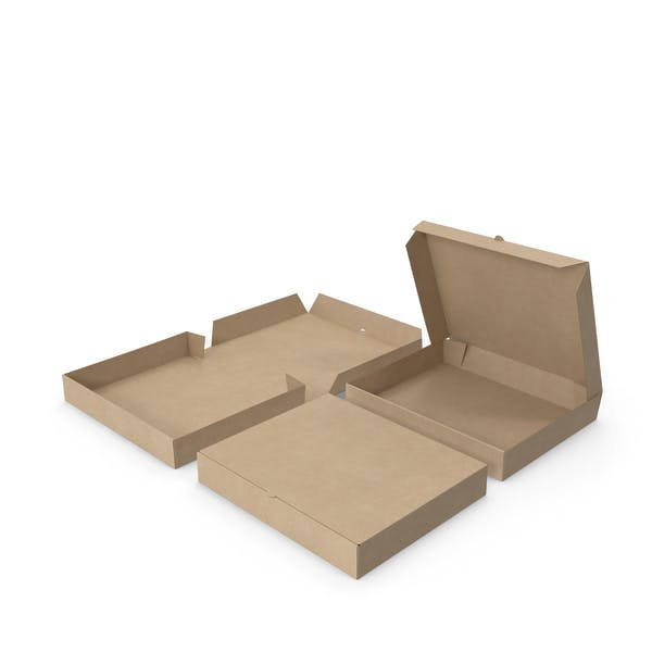 Pizza Boxes Paper Rectangle