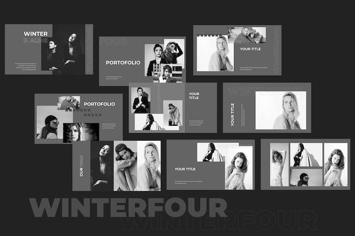 Thumbnail for Winterfour - Fashion Keynote Presentation
