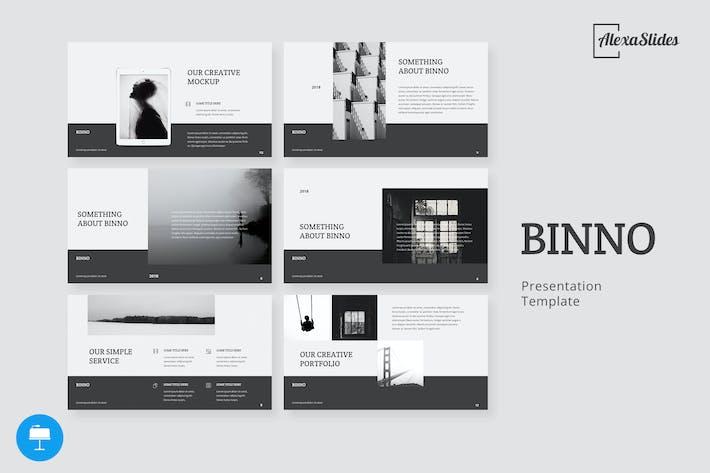 Thumbnail for Binno - Creative Keynote Template