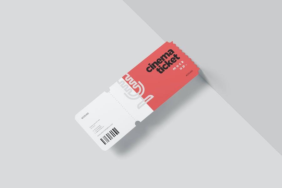 Cinema Ticket Mockups