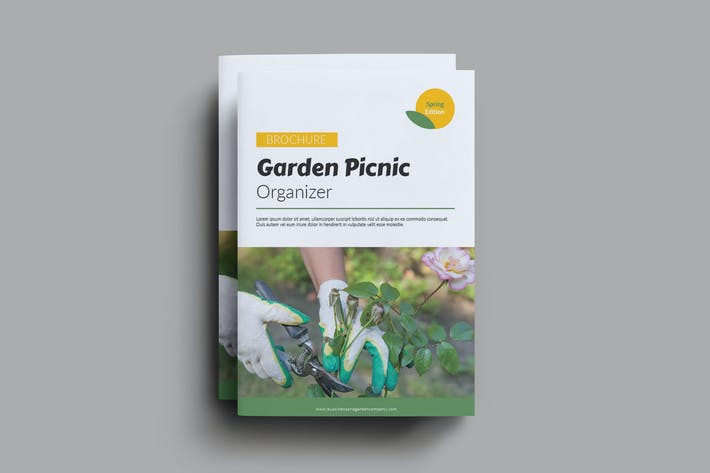 Thumbnail for Garden Picnic Organizer Brochure
