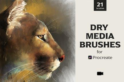 Procreate Dry Media Brushes