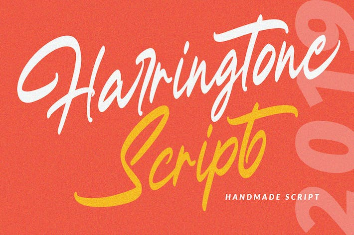 Thumbnail for Harringtone Script