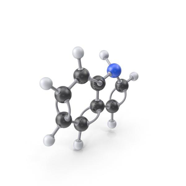 Молекула индола