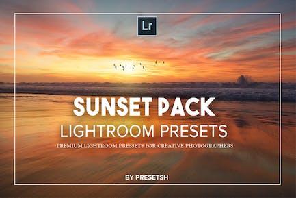Sunset photography Lightroom Presets