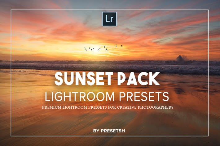 Thumbnail for Sunset photography Lightroom Presets