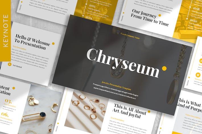 Chryseum - Jewelry Keynote Template