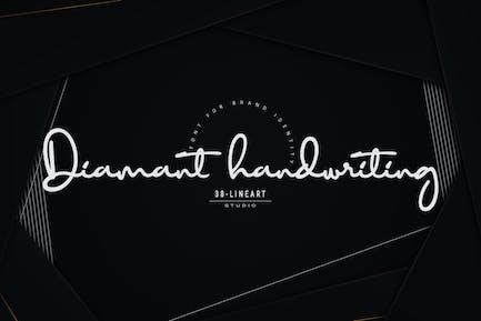 Diamant Handwritting