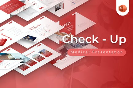 Check Up Medical Powerpoint Presentation Template