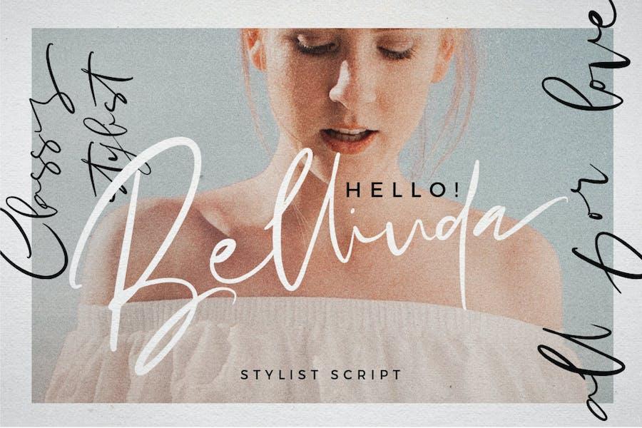 Hello Bellinda - Signature Wedding Script Font