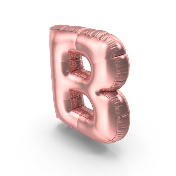 Cover Image for Foil Balloon Letter B
