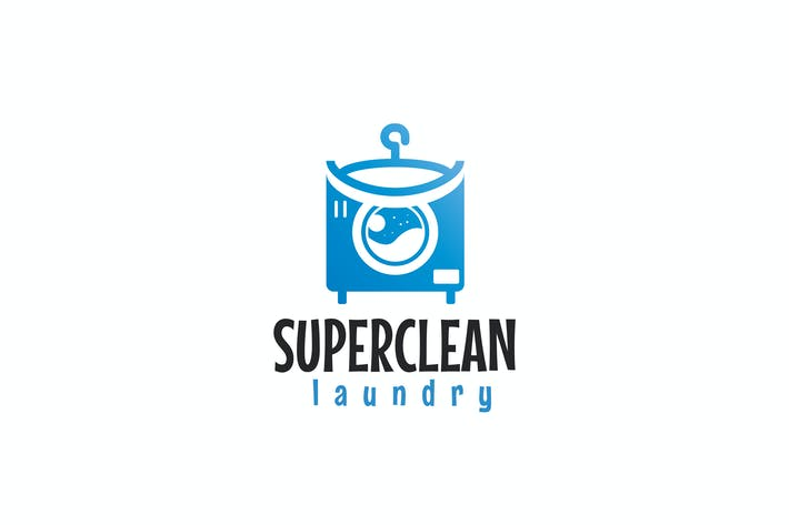 Thumbnail for Laundry Logo Template
