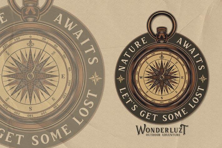 Compass - Traveling Logo