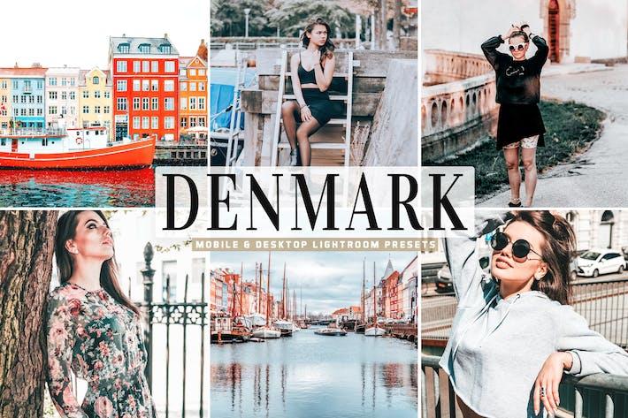 Denmark Mobile & Desktop Lightroom Presets