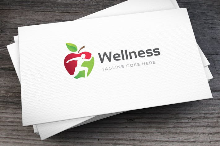 Cover Image For Wellness Logo Template