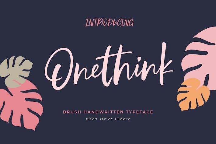 Onethink Lettering