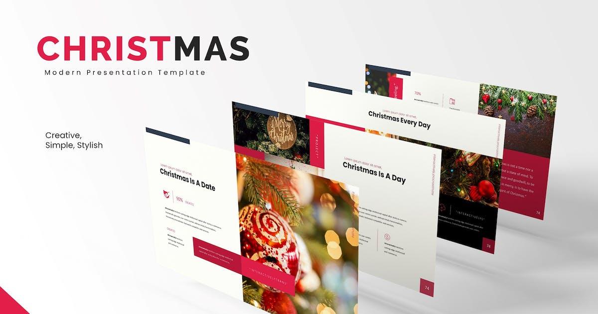 Download Christmas - Keynote Template by karkunstudio