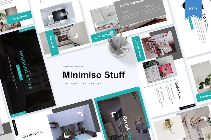 Thumbnail for Minimiso Stuff | Шаблон Keynote