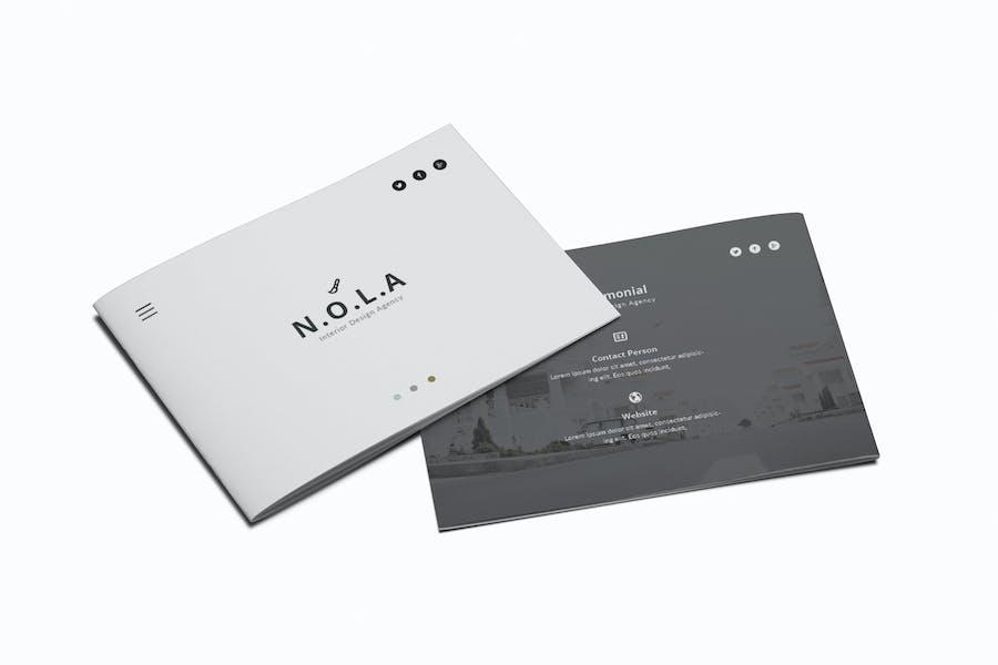 Nola Interior Design A5 Brochure