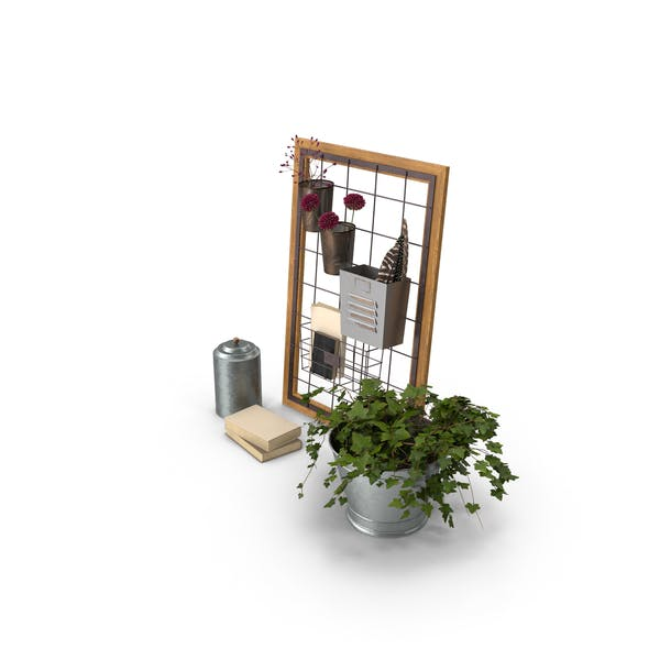 Kit de decoración de estanterías
