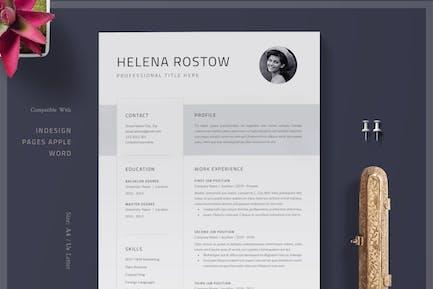 Resume / Resume Template /  Clean Cv /