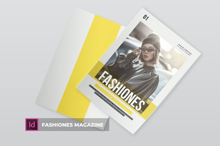Thumbnail for Fashiones | Magazine